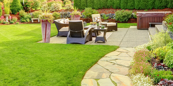 lawn care in Gorton
